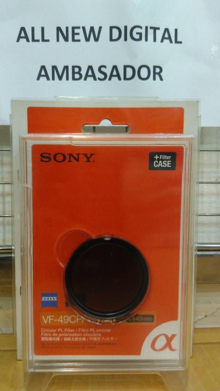 harga Sony filter cpl vf-49cpam zeiss original Tokopedia.com