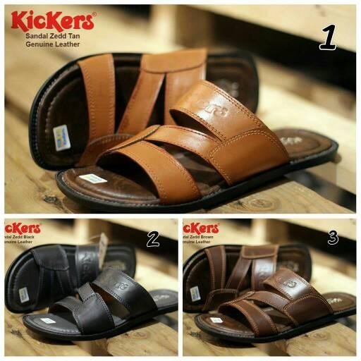 harga Promo !!! kickers sandal zedd concept pria ( kulit asli ) Tokopedia.com