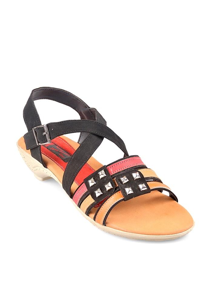 harga Java seven renata bji 671 sandal wanita - hitam kombinasi - hitam 37 Tokopedia.com