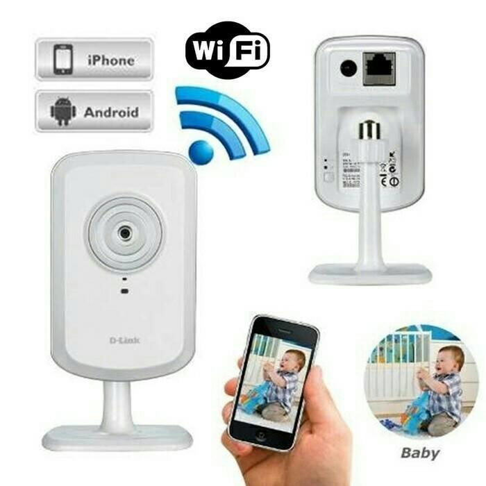 Foto Produk D-Link DCS-930L Wireless N Network Camera / IP Camera CCTV dari Rizieq Computer