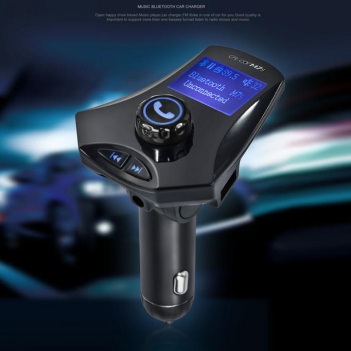 harga M7s bluetooth car charger mp3 player bluetooth fm transmitter tf card Tokopedia.com