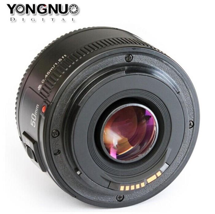 harga Lensa sapu jagat yongnuo ef yn 50mm f1.8 for canon Tokopedia.com