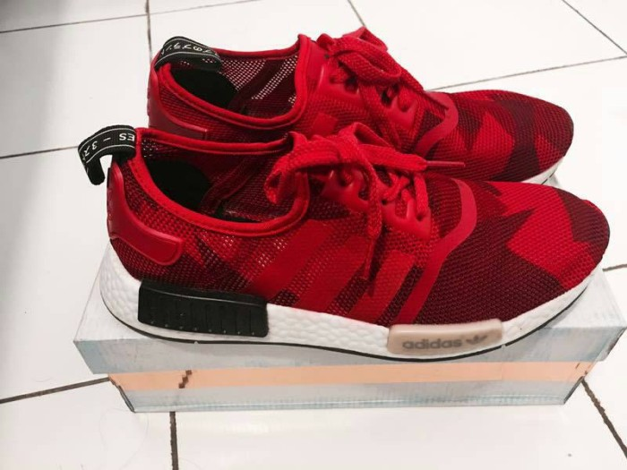 2089729b599d6 Jual adidas NMD geometric camo red (RARE) - Kota Bogor - ubhastore ...