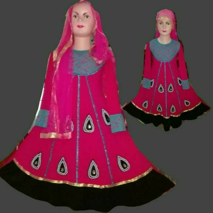 harga Baju india/gamis anak/baju anak dress/baju muslim anak Tokopedia.com