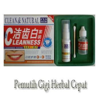 harga Pemutih gigi super cepat - clean & natural pemutih gigi herbal Tokopedia.com