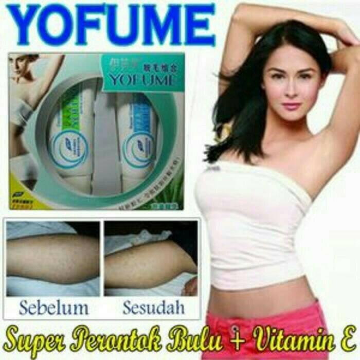 Cream perontok bulu permanen - yofume bulu cream