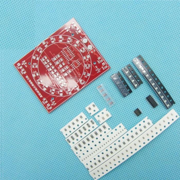Foto Produk SMT SMD Electronic Component Welding Practice Board PCB Soldering DIY dari LisuInstrument