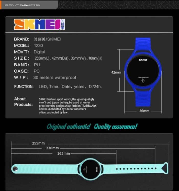 Skmei Jam Tangan Wanita Led Touch Layar Sentuh Digital - 1230a