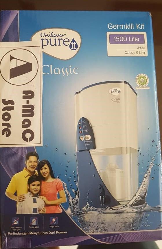 Foto Produk Unilever Pure It Germkill Kit Filter Air 1500L - Refill Pureit dari amac store
