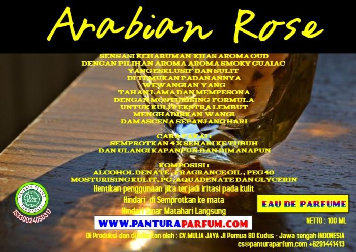 Foto Produk PARFUM EDP ARABIAN ROSE 100 ML  dari Kuman Clean Official