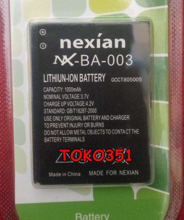 harga Batre baterai nexian g900 g912 t901 g821 g801 g722 g505 g503 g381 c901 Tokopedia.