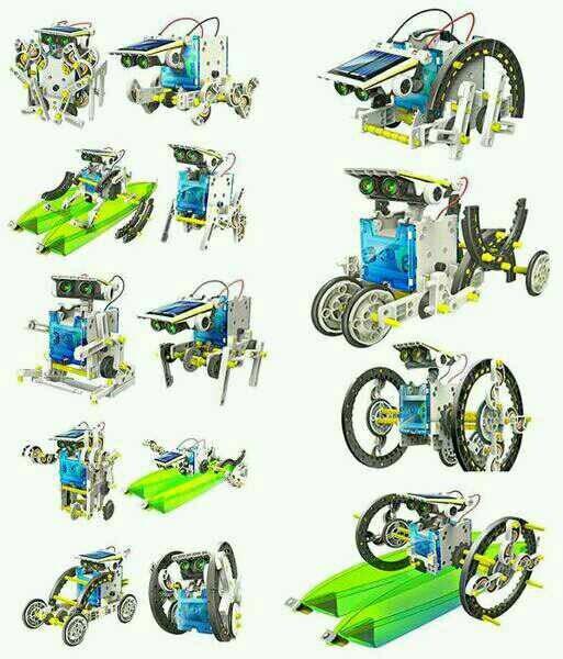 harga Mainan edukasi robot solar 14 in 1 Tokopedia.com