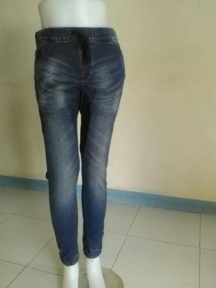 harga Reject celana jeans wanita joger ntf original Tokopedia.com