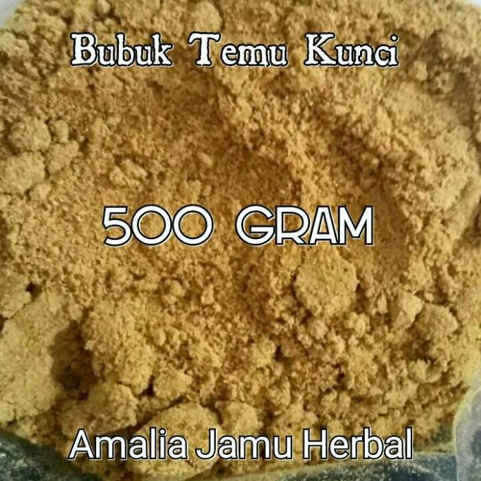 Jual Bubuk Temu Kunci 500 Gram Kab Sleman Amalia Jamu Herbal