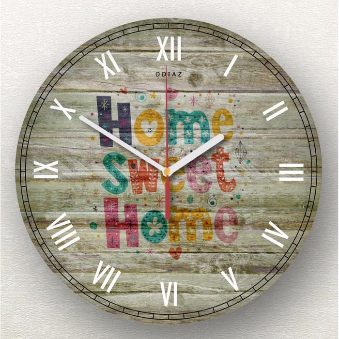 Odiaz Jam Dinding Home Sweet Home Vintage - Info Daftar Harga ... ccb69ccb13