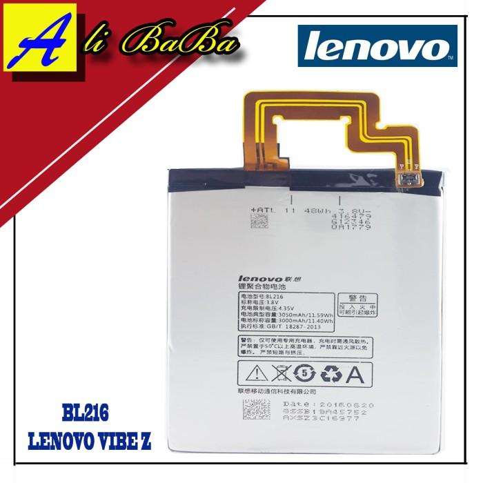 harga Baterai handphone lenovo bl216 lenovo vibe z k910 k910e original Tokopedia.com