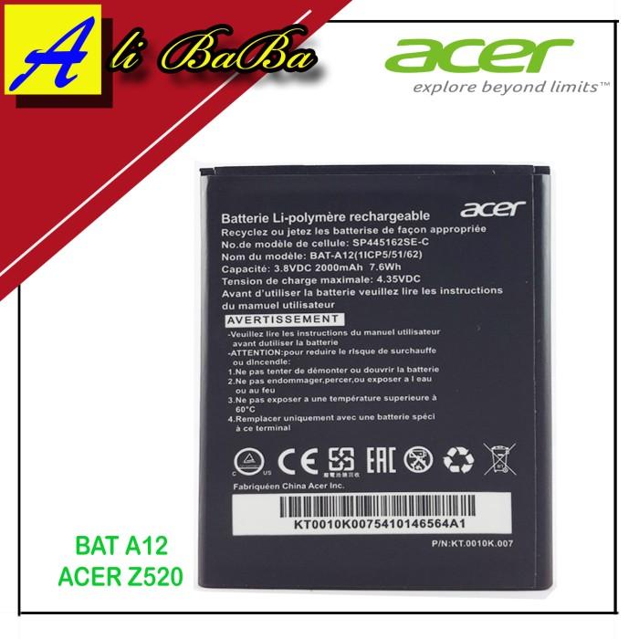 harga Baterai handphone acer bat12 bat-a12 acer z520  battery original Tokopedia.com