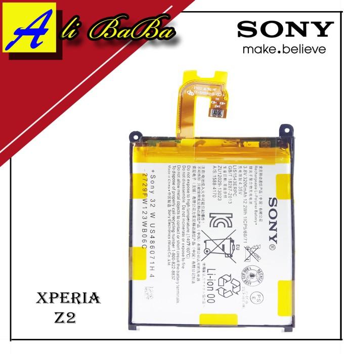 harga Baterai Handphone Sony Xperia Z2 L50 Battery Batre Original Sony Tokopedia.com