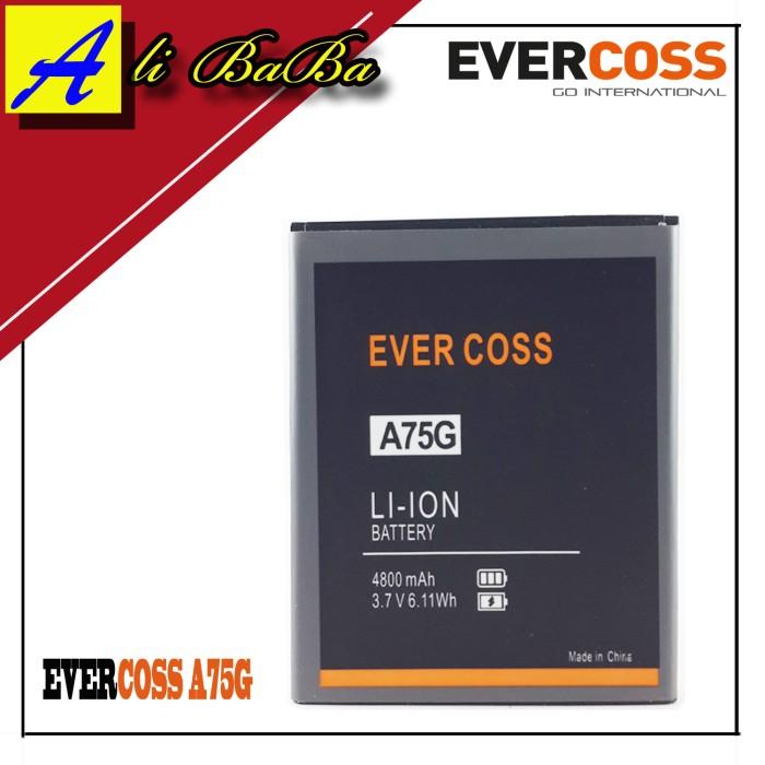 harga Baterai handphone evercoss a75g a75a dobel power original Tokopedia.com