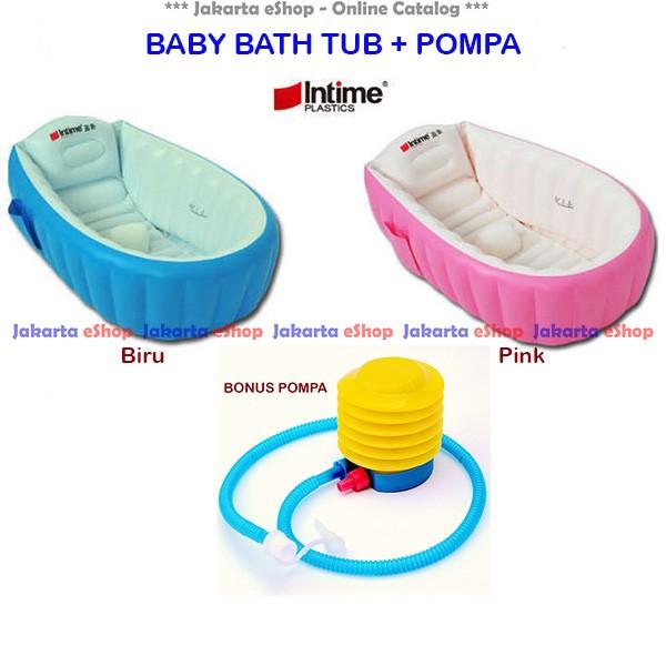 harga Set baby bath tub intime yt226a / tempat mandi bayi yt-226a original Tokopedia.com