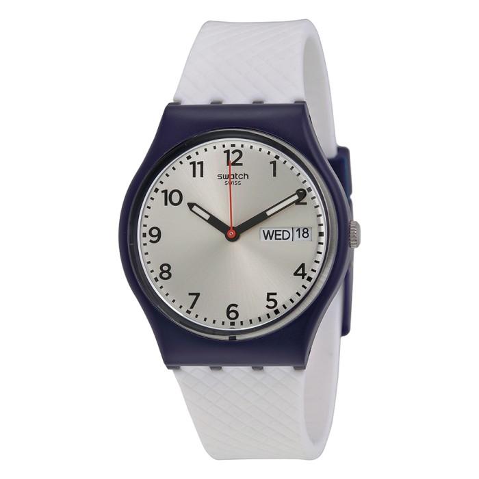 Jam tangan swatch gn720 white delight | original | garansi resmi