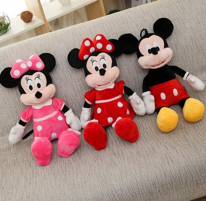 Jual Boneka Mickey Mouse 40cm Boneka Disney Boneka Minnie Mouse ... c3bb7a187b