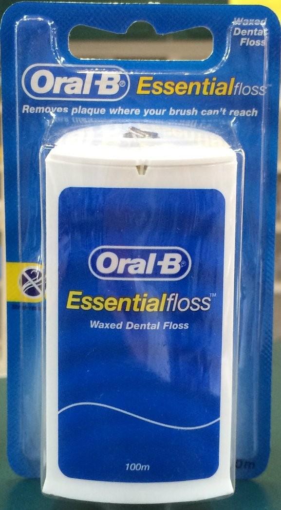 harga Oral b essential floss (dental floss / benang gigi) 100 m Tokopedia.com
