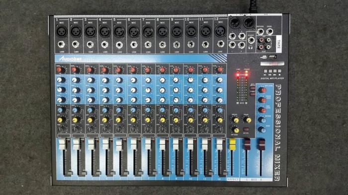Mixer audio 12 ch mono kabe Audioline ct 120 efx