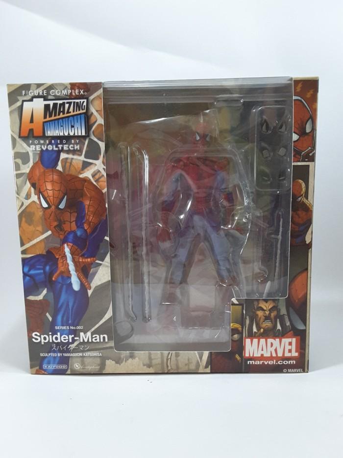 harga Revoltech amazing spiderman yamaguchi 002 new ver marvel comics Tokopedia.com