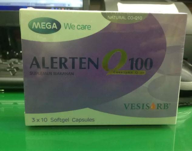 Alerten Q100 30 Softgel Capsules - Blanja.com