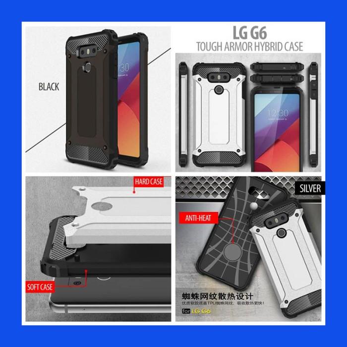 LG G6 Tough Armor Hybrid Case Casing Cover