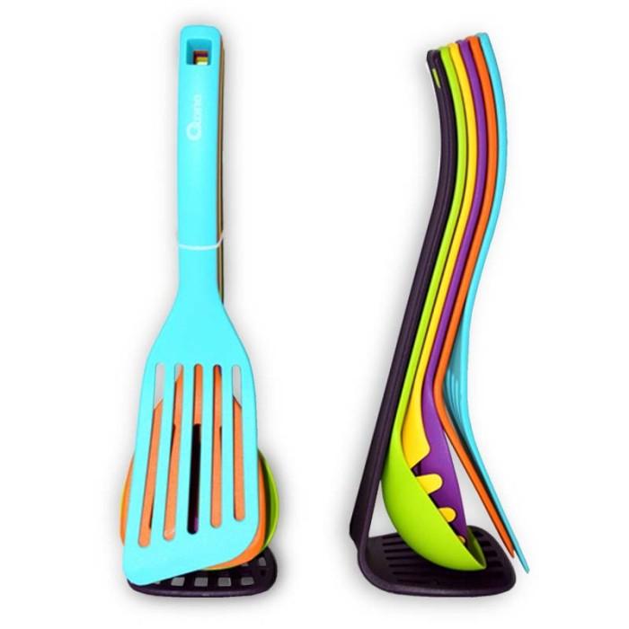 Oxone ox-954 set spatula / sutil nilon bermagnet - magnet kitchen tool