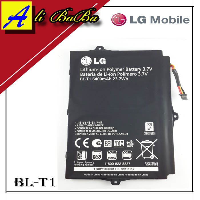 harga Baterai handphone lg optimus pad bl-t1 bl-t1 battery original batre lg