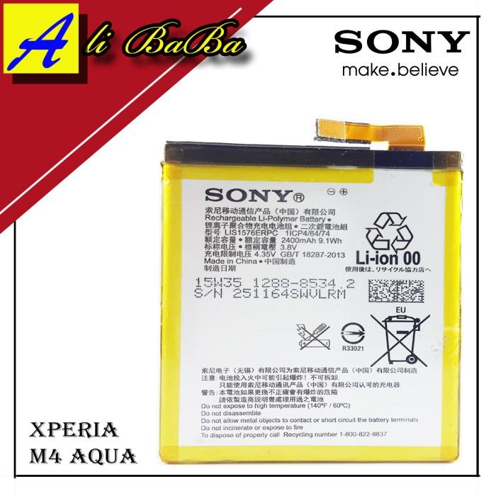 harga Baterai Handphone Sony Xperia M4 Aqua E2303 Battery Original Sony Tokopedia.com