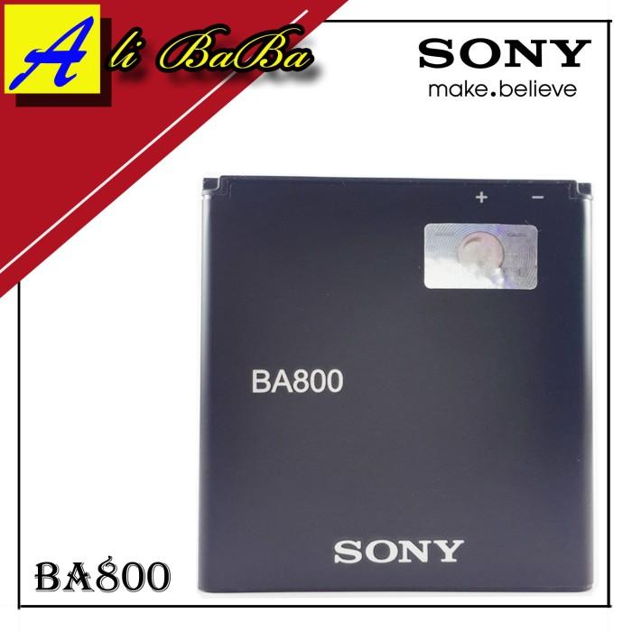 harga Baterai handphone sony ba800 sony xperia s sl v battery original sony