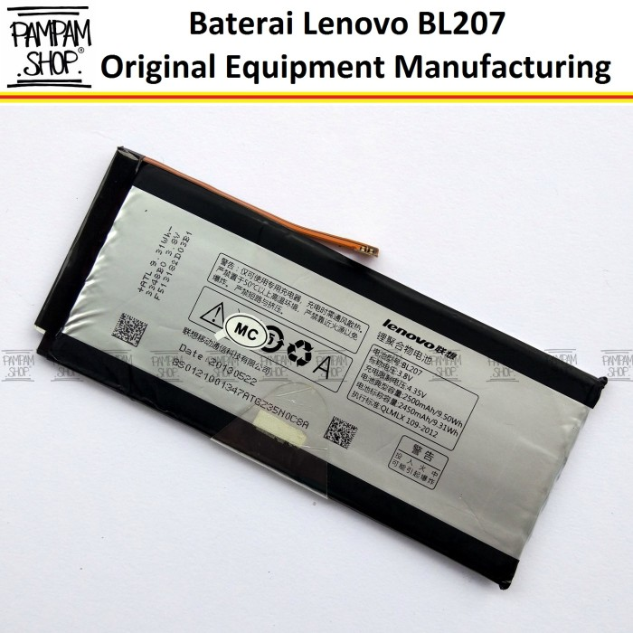 harga Baterai handphone lenovo bl207 k900 original oem batre bl 207 k 900 Tokopedia.com