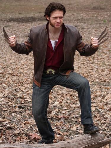 harga Jaket semi kulit sintetis jacket wolverine logan x men cokelat pria Tokopedia.com