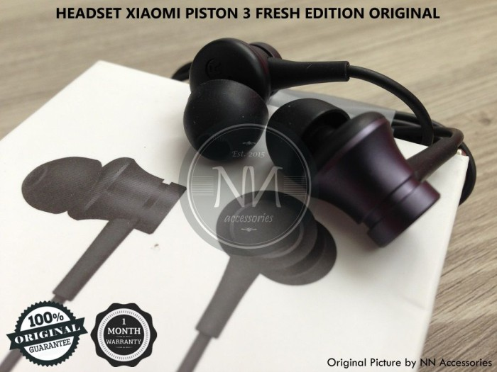 harga Headset earphone xiaomi mi 6 5s 5c 4i 4c mix redmi note 2 3 4 original Tokopedia.com