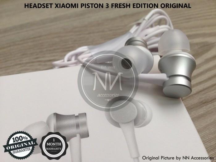 harga Headset earphone xiaomi mi 4c 4i 5c 5s 6 max redmi note 2 3 4 original Tokopedia.com