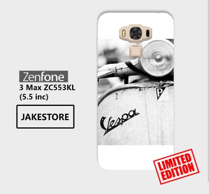 harga Limited case asus zenfone 3 max zc553kl vespa old piaggio wallpaper Tokopedia.com