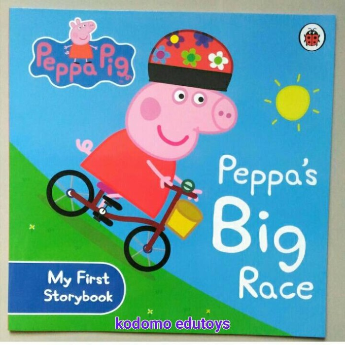 harga Peppa pig -- peppa's big racebuku import anak Tokopedia.com