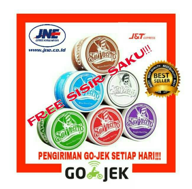 Jual Pomade Suavecito Hair Clay Wax Colour Warna SAMPLE