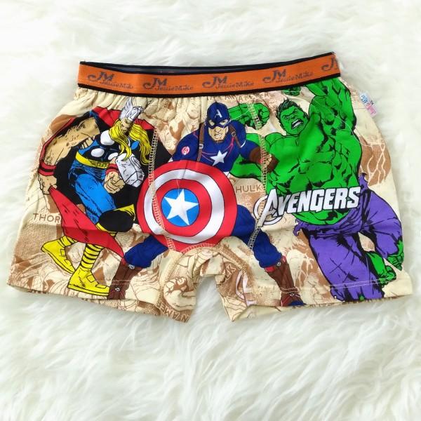 ... harga Celana dalam boxer anak laki-laki avengers captain america hulk  thor Tokopedia.com 563e656971