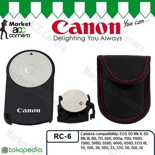 Foto Produk Wireless Remote Control Canon RC-6 for EOS 5D, 6D, 7D, 60D, 70D, 100D dari createmore online