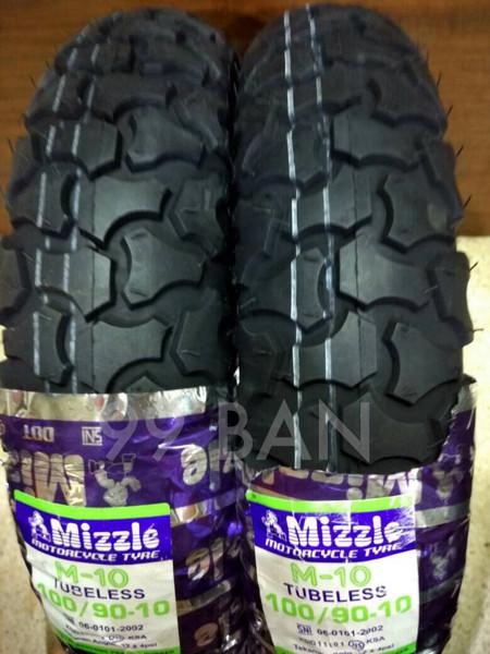 Mizzle M10 100 90 10 Ban Vespa Motif Cross