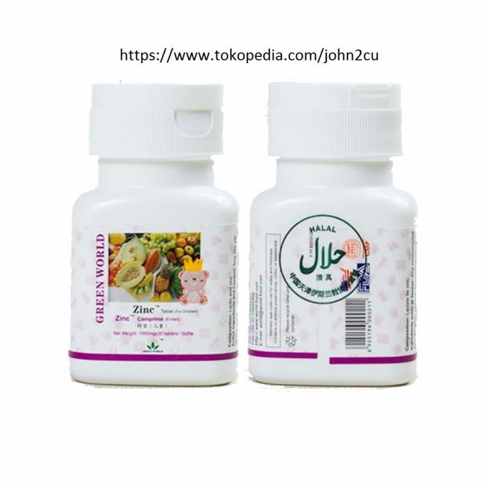 Jual Obat Gemuk Herbal Zinc Tablet Untuk Anak Halal Aman Original