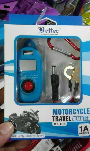 harga Charger hp di aki motor Tokopedia.com