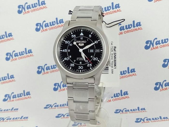 harga Seiko 5 snk809k1 military black dial | jam tangan pria snk809 Tokopedia.com