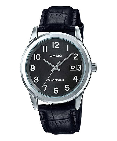 harga Jam tangan pria casio original strap kulit solar power mtp-vs01l-1b1 Tokopedia.com