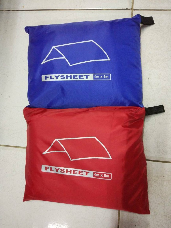 harga Flysheet / plesit / pelapis tenda / bivak ukuran 4x6m Tokopedia.com